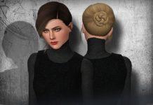 """Высокая прическа """"Габби"""" от Ade_Darma для Sims 3"""