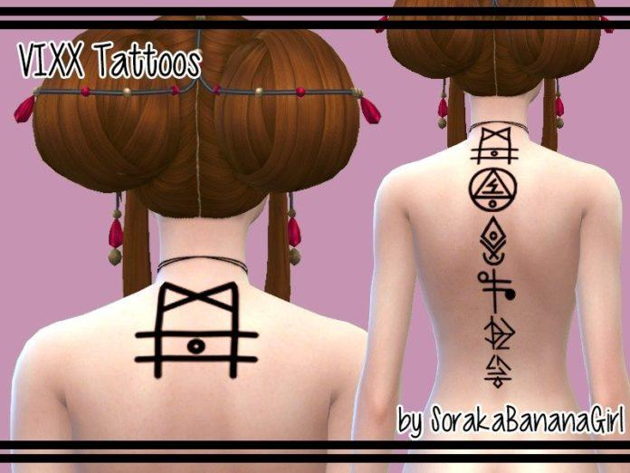 Набор татуировок