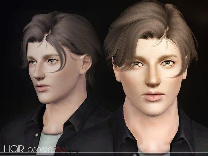 Прическа № OE0820 от wingssims для Sims 3