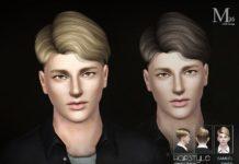 """Мужская прическа """"Samuel"""" №35 от S-Club для Sims 3"""