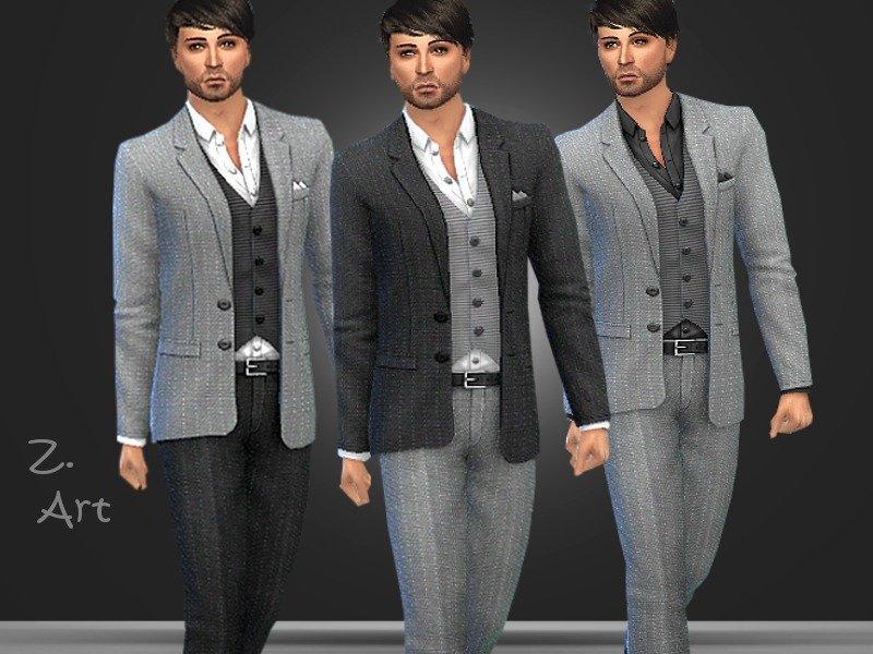 Мужской костюм от Zuckerschnute20 для Sims 4