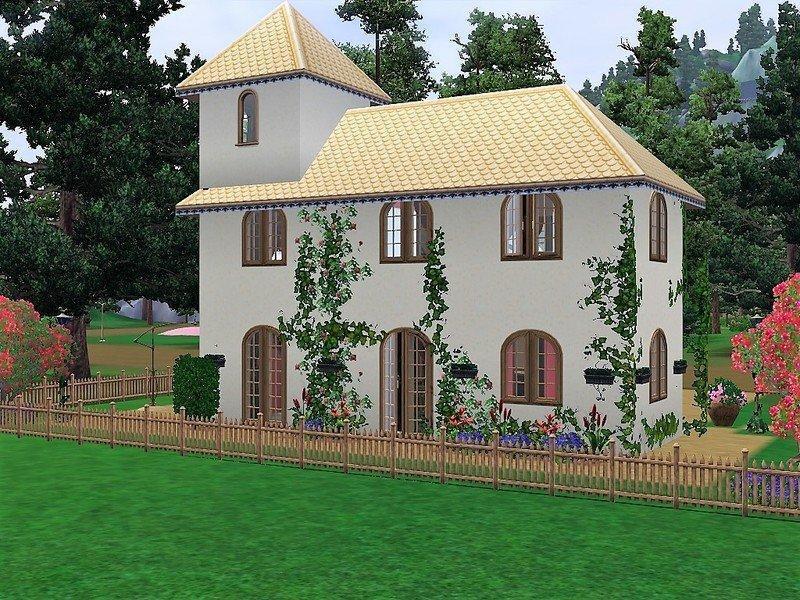 """Коттедж """"Адель"""" от sgK45 для Sims 3"""