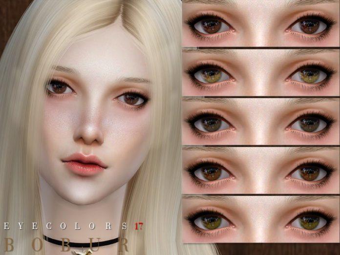 Глаза №17 от Bobur3 для Sims 4