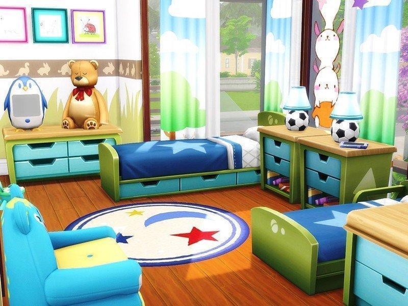 """Особняк """"Грация"""" от MychQQQ для Sims 4"""