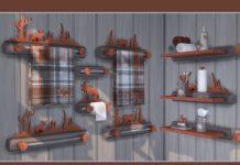 """Ванная комната """"Лесная фантазия"""" от soloriya для Sims 4"""
