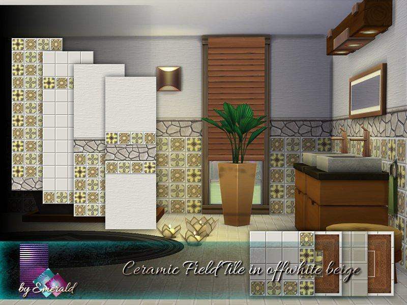 Керамическая плитка от emerald для Sims 4
