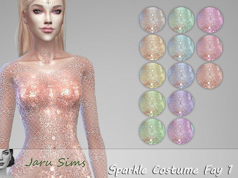 Женский костюм феи от Jaru Sims для Симс 4