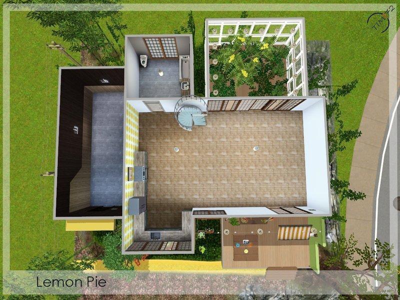 "Дом ""Лимонный пирог"" от timi72 для Sims 3"