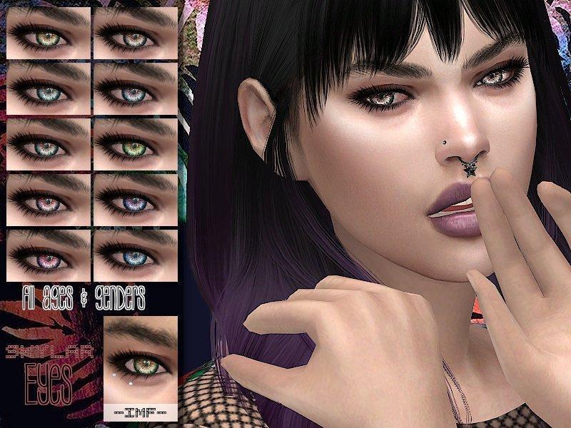 """Глаза """"Скайлар"""" от IzzieMcFireдля Sims 4"""
