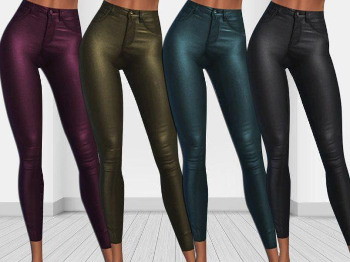 Кожаные легинсы от Saliwa для Sims 4
