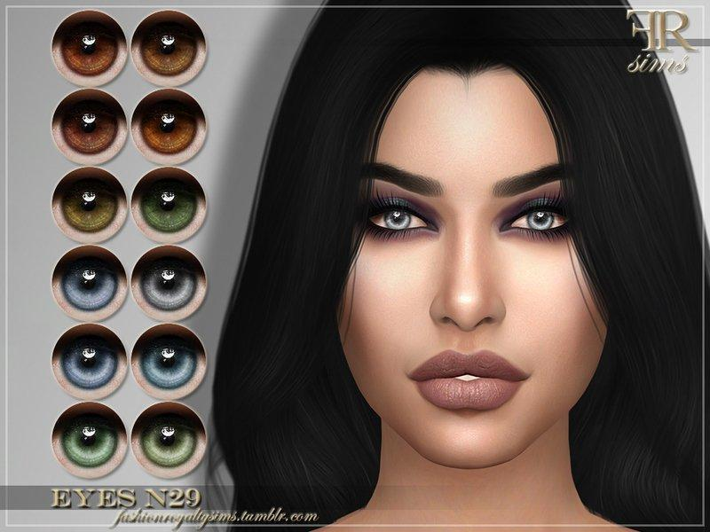 Глаза №29 от FashionRoyaltySims для Sims 4