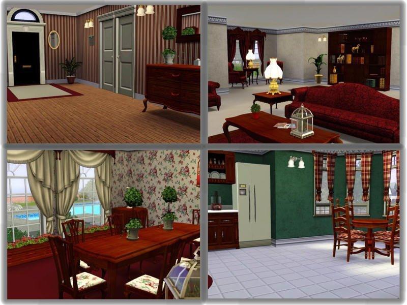 """Особняк """"Crimson Lane"""" от JCIssette для Sims 3"""