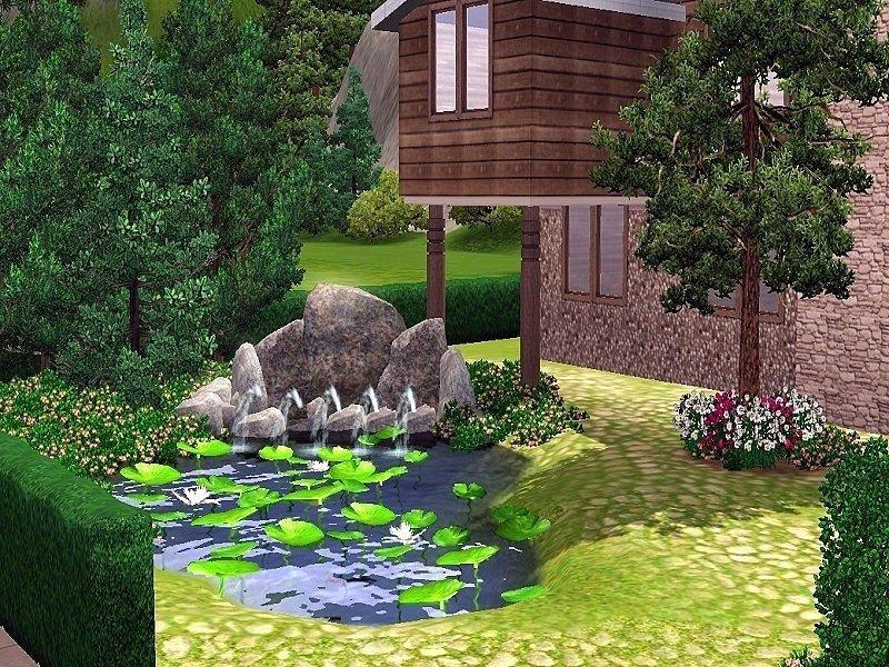 "Домик ""Luxury Chalet"" от Natural Sims для Sims 3"