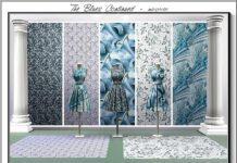 """Набор текстур """"Blues Continued"""" от marcorse для Sims 3"""