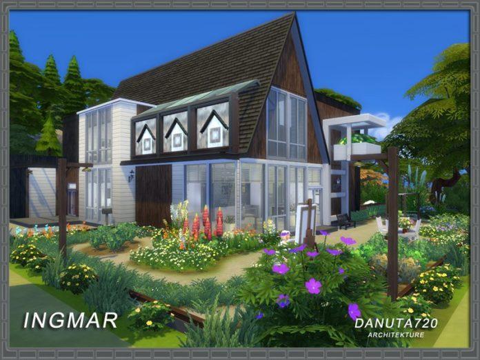 Вилла Ингмар от Danuta720 для Sims 4