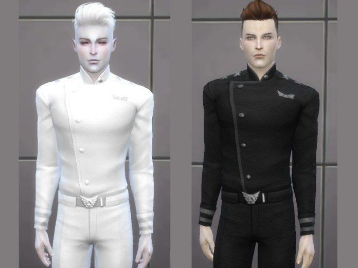 Форма космического рейнджера от TatyanaName для Sims 4