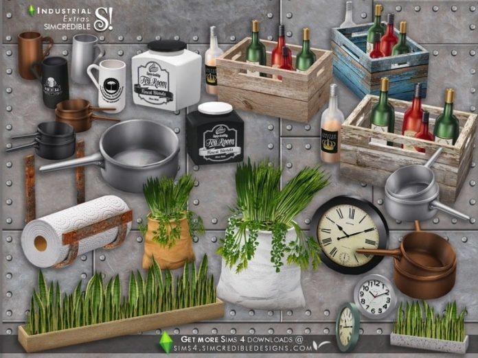 Набор декораций для кухни