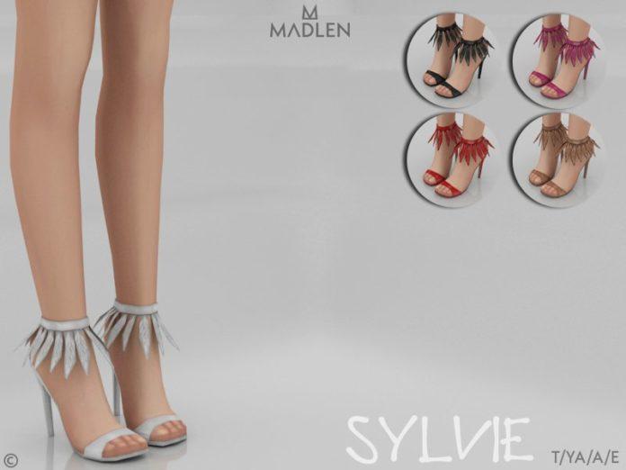 Босоножки Sylvie от MJ95 для Sims 4