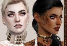 "Макияж для глаз ""Точки"" от Pralinesims для Sims 4"
