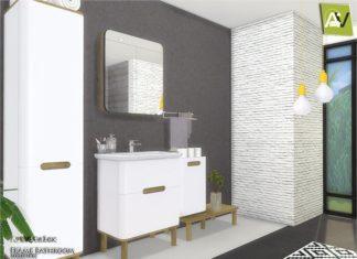 """Ванная комната """"Остов"""" от ArtVitalex для Sims 4"""