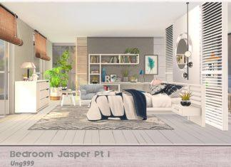"Спальня ""Яшма"" от ung999 для Sims 4"