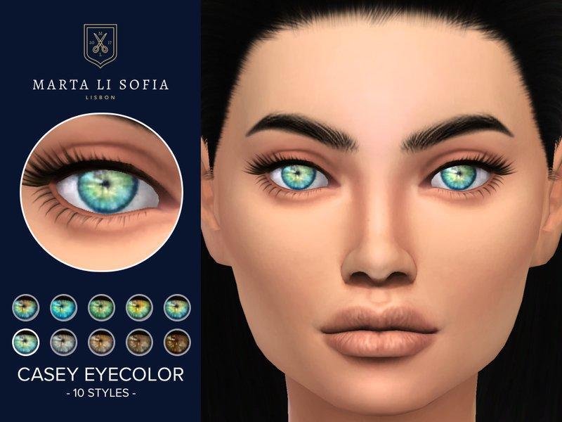 """Глаза """"Кейси"""" от martalisofia для Sims 4"""