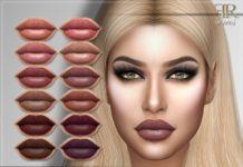 """Губная помада """"Kelly"""" от FashionRoyaltySims для Sims 4"""