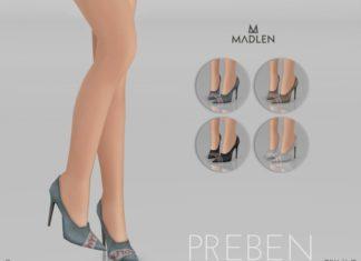 Женские туфли Preben от MJ95 для Sims 4