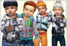 Детская парка от bukovka для Sims 4