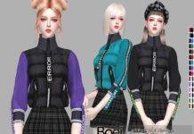 Куртка ERROR от Helsoseira для Sims 4