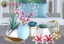 Набор декора для внутреннего дворика от NynaeveDesign для Sims 3