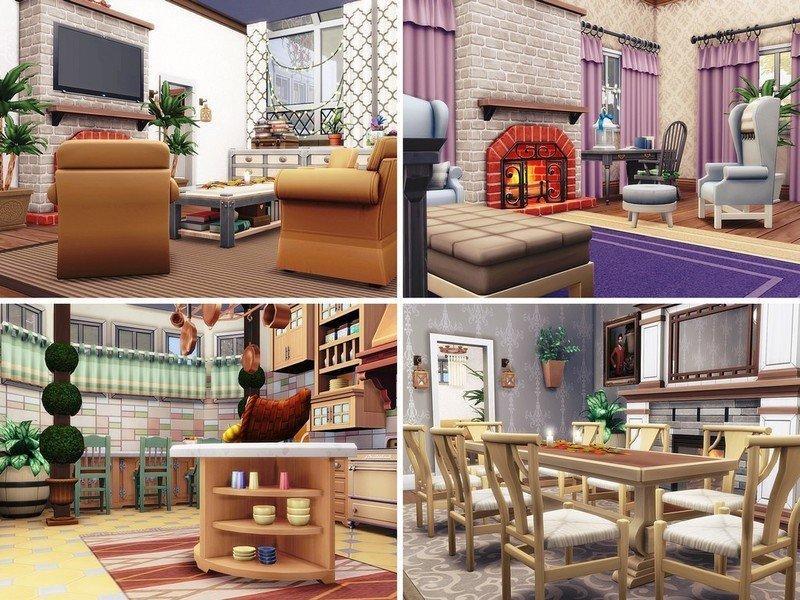Особняк Битлджус от MychQQQ для Sims 4