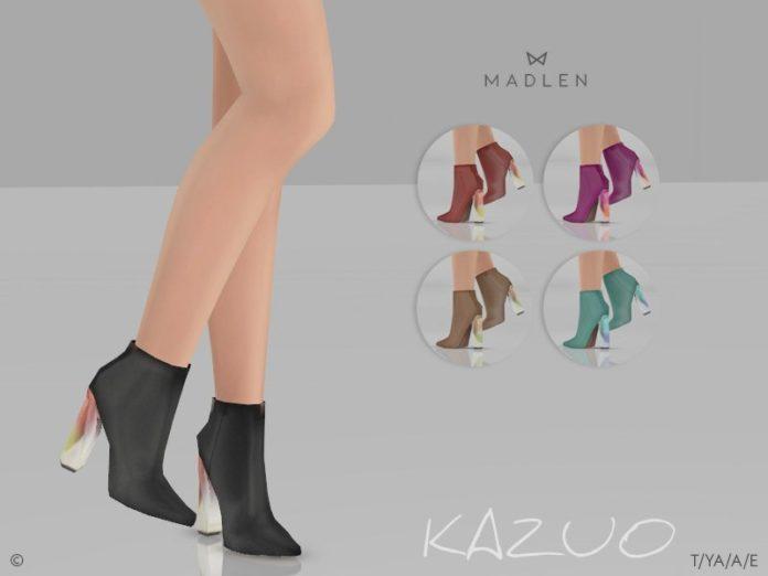 Ботинки Kazuo от MJ95 для Sims 4