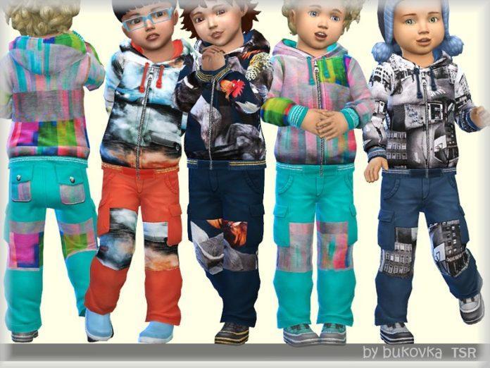 Штаны для мальчика от bukovka для Sims 4