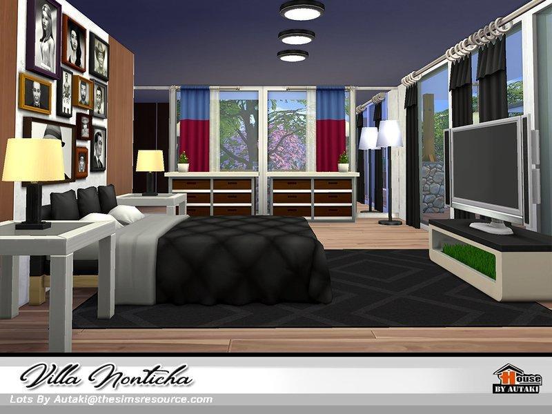 Вилла Nonticha от autaki для Sims 4