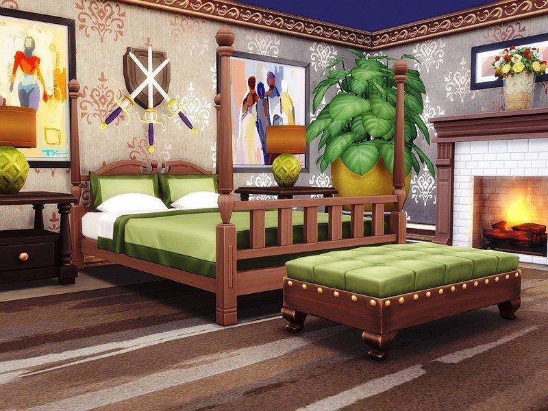 Особняк Del Sol Valley от MychQQQ для Sims 4