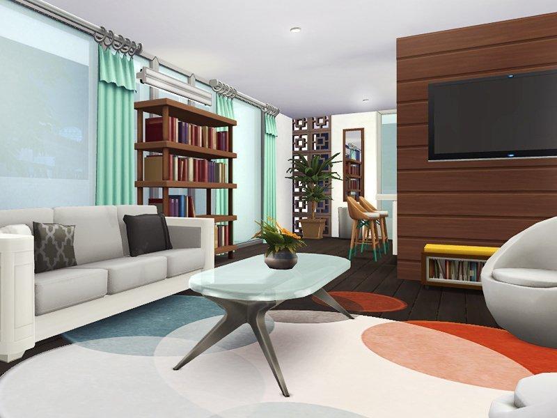 "Дом ""Илана"" от Rirann для Sims 4"
