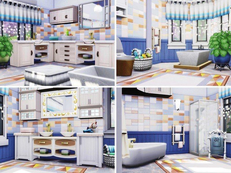 "Вилла ""Daraluk"" от autaki для Sims 4"