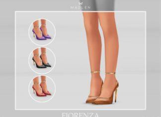 "Туфли ""Fiorenza"" от MJ95 для Sims 4"