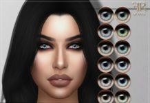 Глаза светлых оттенков от FashionRoyaltySims для Sims 4