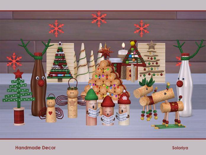 Рождественский декор (крупный)
