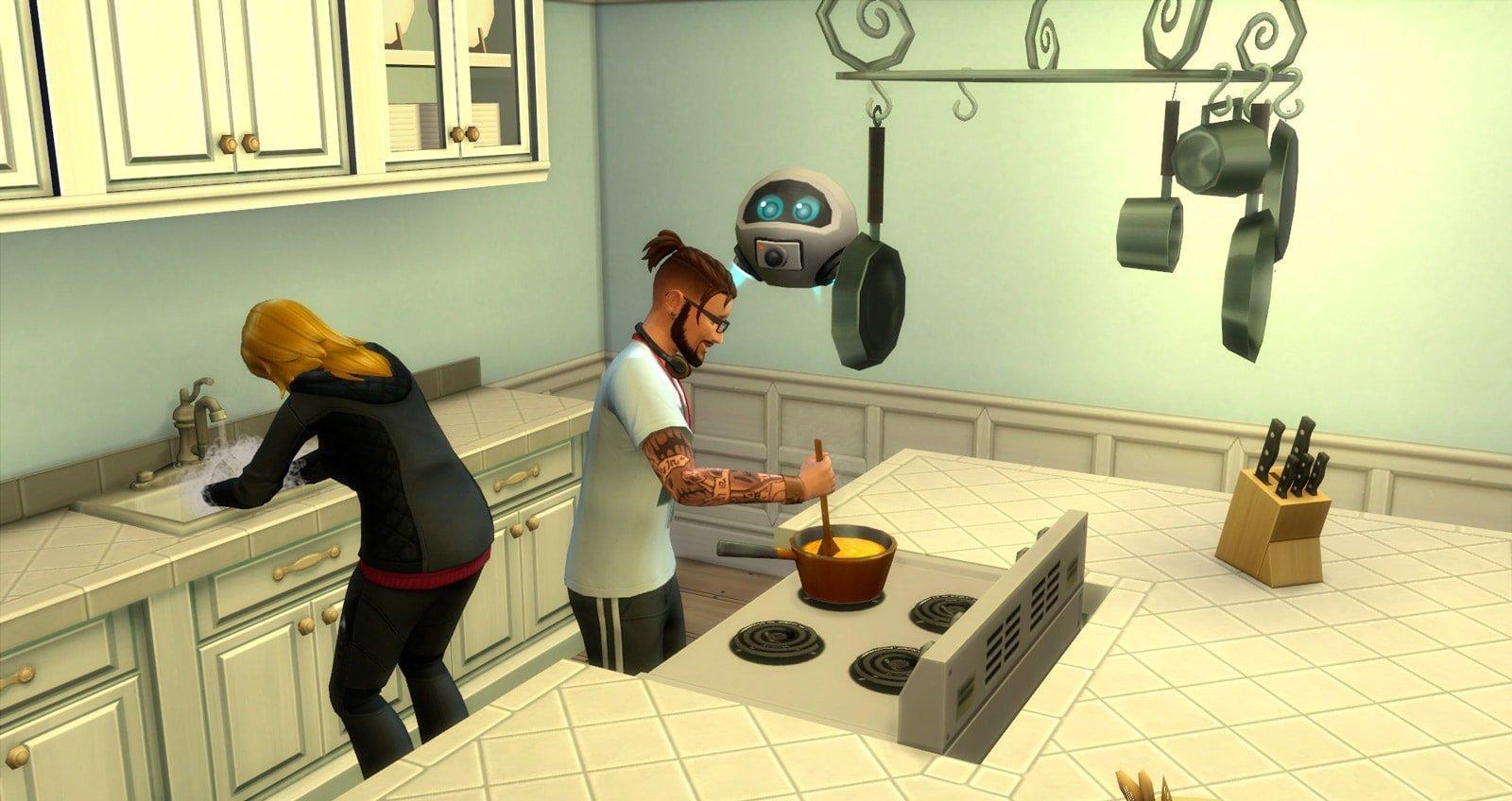 Путь к славе Sims 4. навык блогер