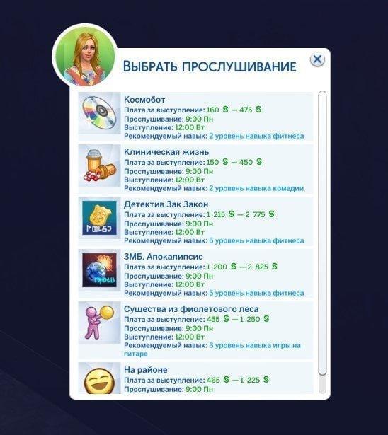 Sims 4. Актер