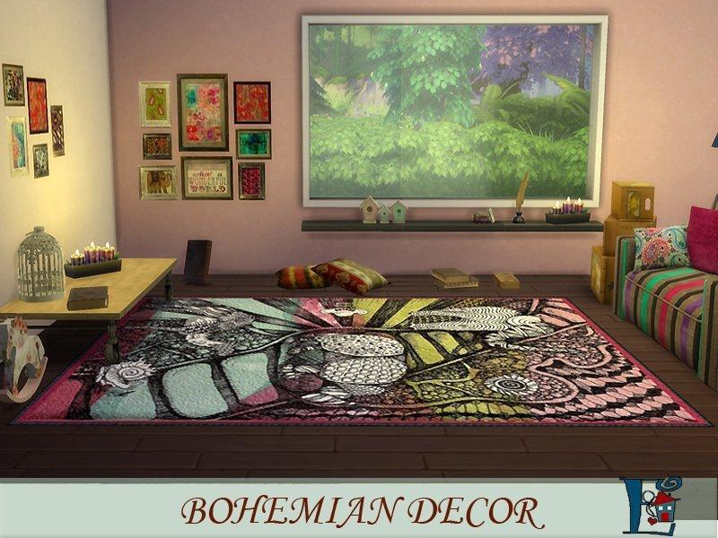 Цыганские ковры от evi для Sims 4