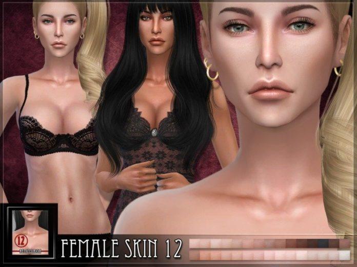Женский скин №12 от RemusSirion для Sims 4