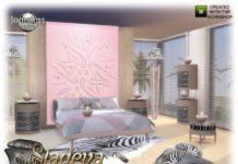 "Спальная ""Sladeva"" от jomsims для Sims 4"