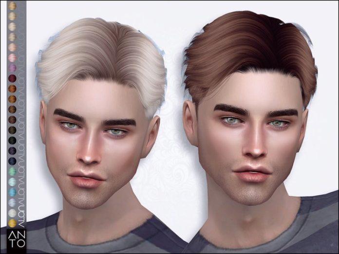 Короткая мужская стрижка Алан от Anto для Sims 4