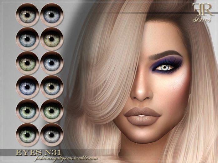 Глаза №31 от FashionRoyaltySims для Sims 4