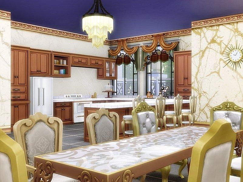 """Особняк """"Звезда холмов"""" от Danuta720 для Sims 4"""