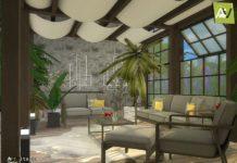 Гостиная Ansonia от ArtVitalex для Sims 4